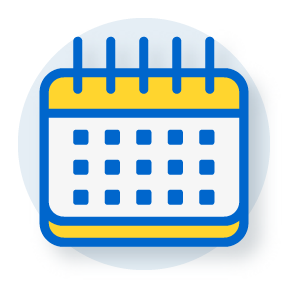 icon of a calendar page