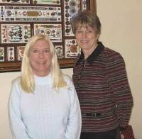 Brenda Riggs, Lora Lacey-Haun, UMKC School of Nursing