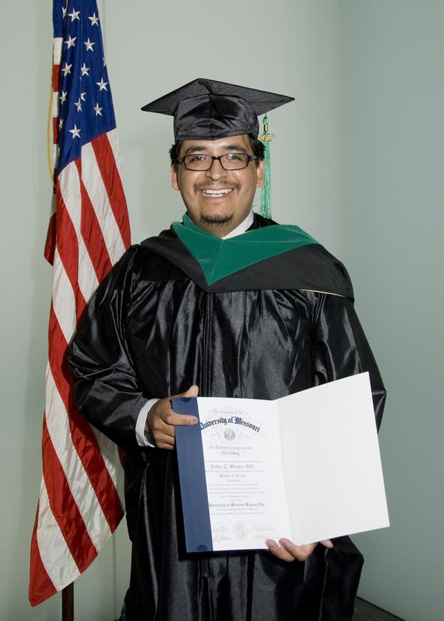 UMKC MSA Grad Arthur Misquez