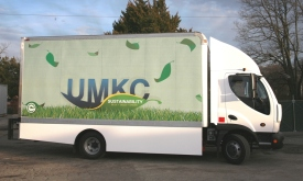 UMKC all-electric truck