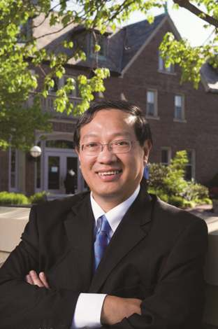 Teng-Kee Tan, PhD, dean of the UMKC Bloch School of Management