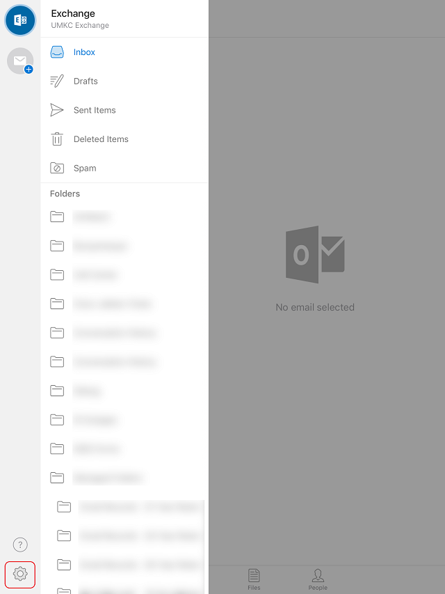 Mobile Devices → Exchange Email Setup for Faculty & Staff