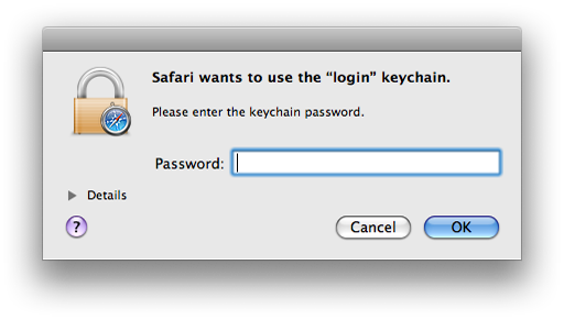 Macintosh Support - Keychain Management 9c3f0a285
