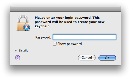 how to delete keychain on mac