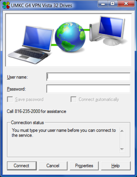 VPN Logon Prompt