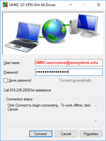 VPN Client Logon