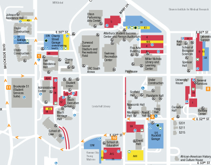 University Of Central Missouri Map.Campus Maps