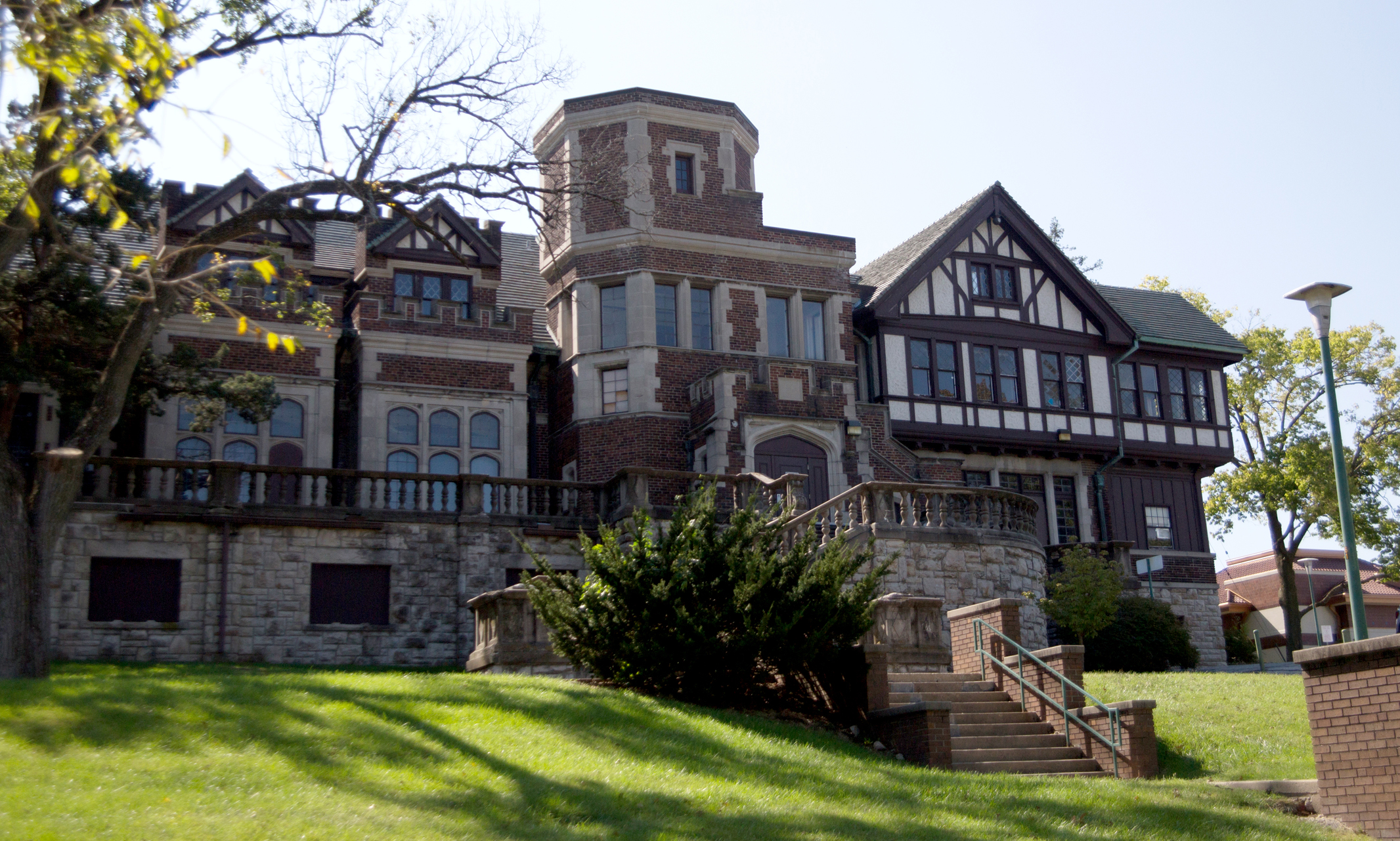 exterior shot of Epperson House